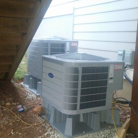 Carrier Performance series 3 ton 16 SEER AC Condenser(Reston)