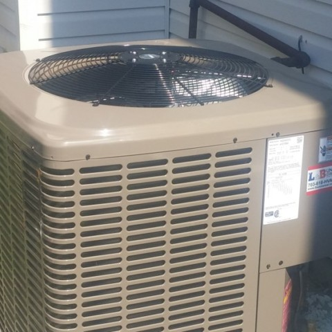 York LX series 14 seer 2 ton heat pump(Winchester)